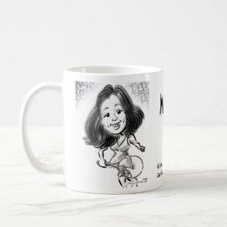 Mindy's Caricature Mug