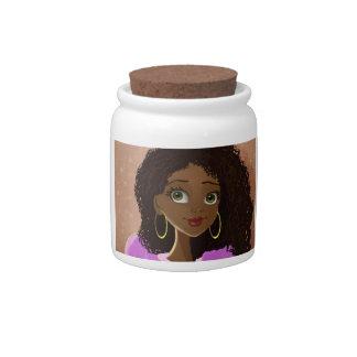 Mindy's Mother Candy Jar