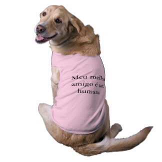 mine better friend is a human T-Shirt