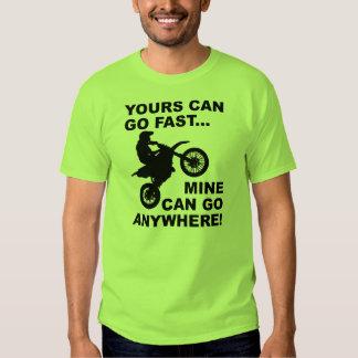 Mine Can Go Anywhere Dirt Bike Motocross T-Shirt