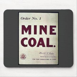Mine Coal Mouse Pad