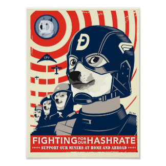 Mine Dogecoin Poster