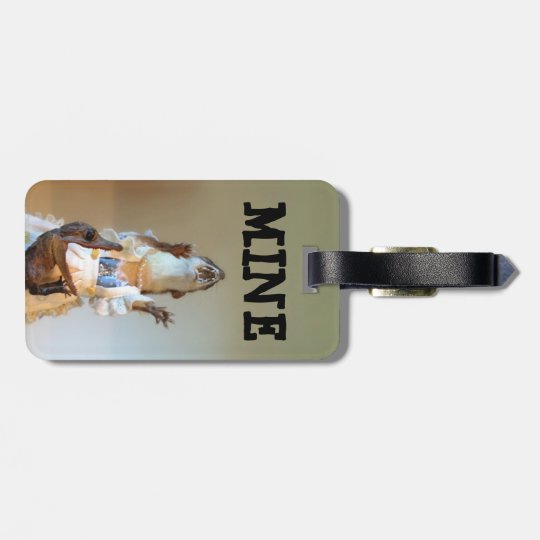 MINE (double-sided) Bag Tag