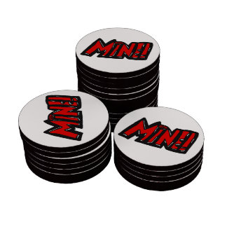 MINE! Get your own! funny poker chip Poker Chips