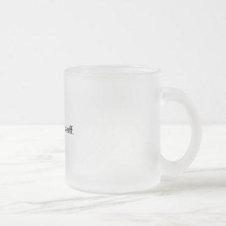 Mine hands off Mug