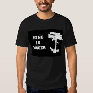 Mine is Bigger Steadicam T-shirt (Mens)