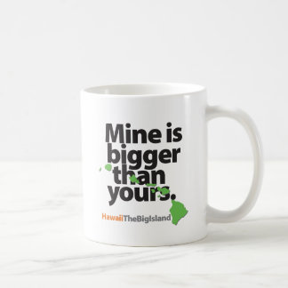Mine Is Bigger Than Yours Coffee Mug