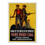Mine more coal poster