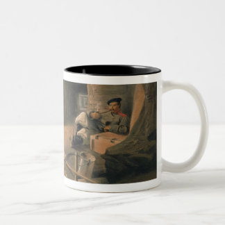 Mine of the Bastion du Mat, plate from 'The Seat o Two-Tone Coffee Mug