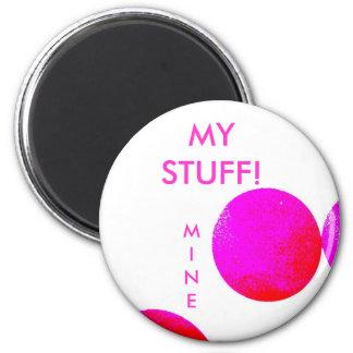MINE  = School Locker Magnet