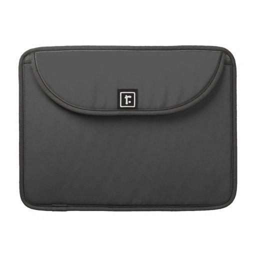 Mine Shaft Charcoal Black Macbook Pro Flap Sleeve Sleeve For MacBook Pro