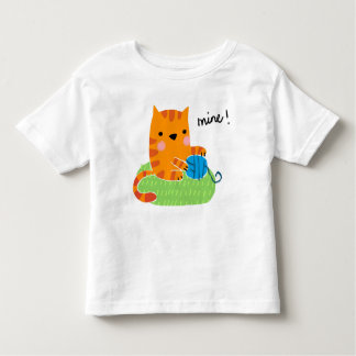 mine! toddler t-shirt