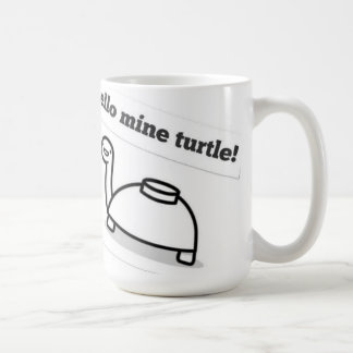 Mine turtle mug