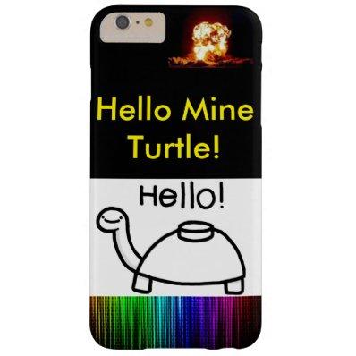 Mine Turtle Phone Case
