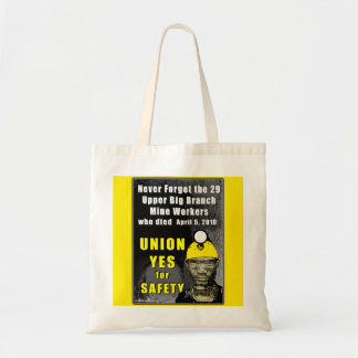 Mine Workers Budget Tote Tote Bags