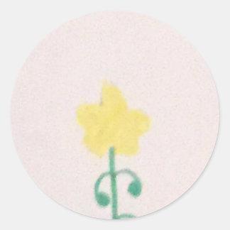 Minecraft dandelion flower sticker
