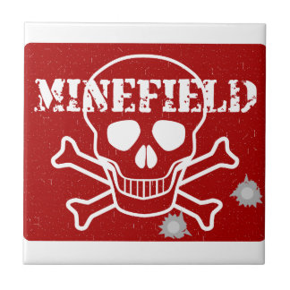 Minefield Sign Tile