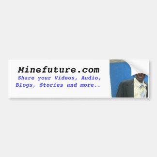 minefuture.com pegatina para auto