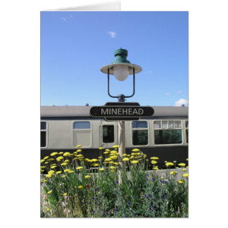 Minehead station, Somerset Card
