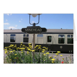 Minehead station, Somerset, UK Card