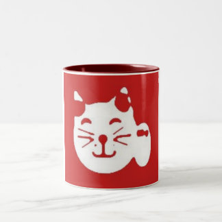 minekineko Two-Tone coffee mug