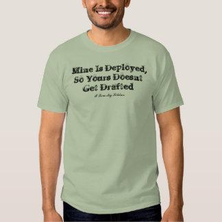Minen is deployed... - Customized Shirt