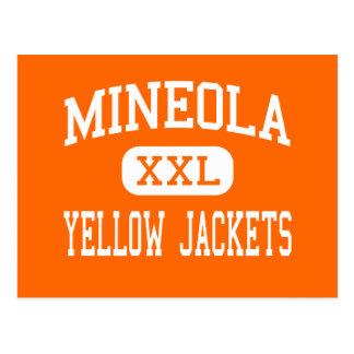 Mineola - Yellow Jackets - High - Mineola Texas Postcard