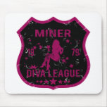 Miner Diva League Mouse Pad