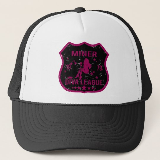 Miner Diva League Trucker Hat