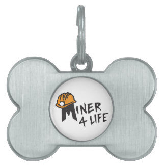 Miner For Life Pet ID Tags