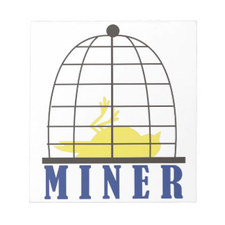 Miner Memo Pad