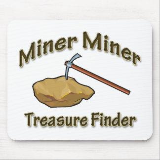 Miner Miner Treasure FInder Mouse Pad