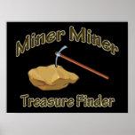 Miner Miner Treasure FInder Poster