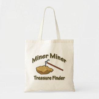 Miner Miner Treasure FInder Tote Bag