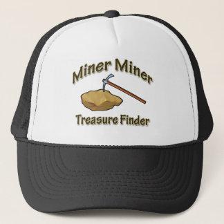 Miner Miner Treasure FInder Trucker Hat