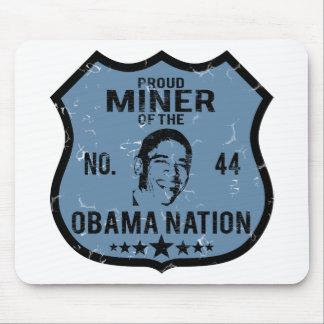 Miner Obama Nation Mouse Pad