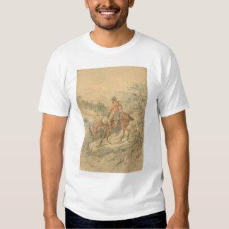 Miner on Horseback (0692A) T-shirt