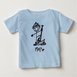 Miner Stick Figure Baby T-Shirt