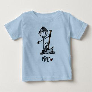 Miner Stick Figure Tee Shirt