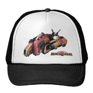 Miner Wars Cap - Spaceship Mesh Hat