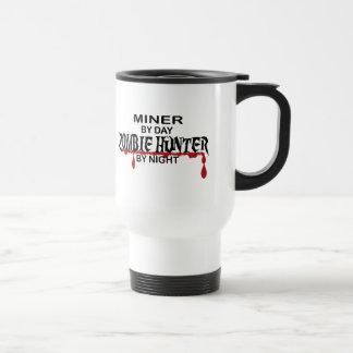 Miner Zombie Hunter 15 Oz Stainless Steel Travel Mug