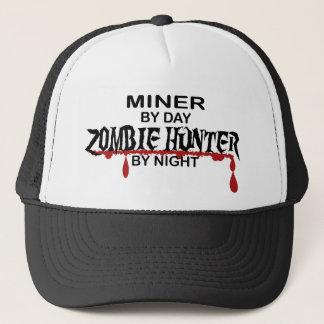 Miner Zombie Hunter Trucker Hat