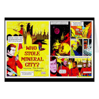Mineral City - Card