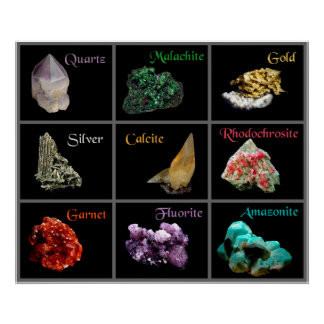 Mineral Collection Poster