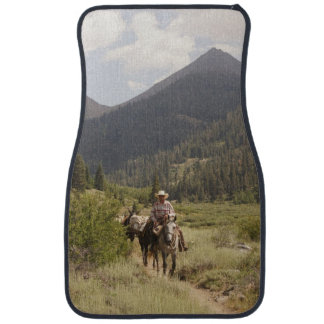 Mineral King Mule pack string car mats