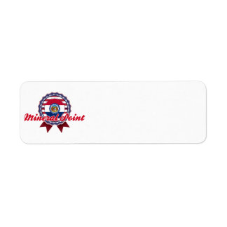 Mineral Point, MO Return Address Labels