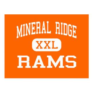 Mineral Ridge - Rams - High - Mineral Ridge Ohio Postcard