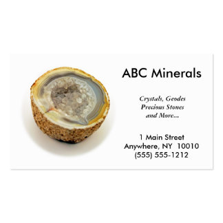 Mineral Shop Business Card