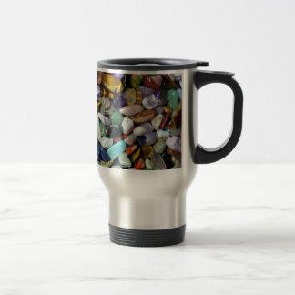 Mineral Stones 15 Oz Stainless Steel Travel Mug