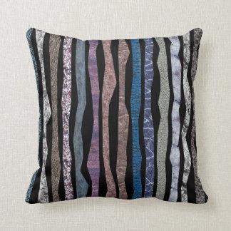 Mineral Stripes Throw Pillows